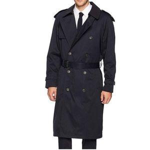 Hart Schaffner Marx Belted Rain Coat Size 44L